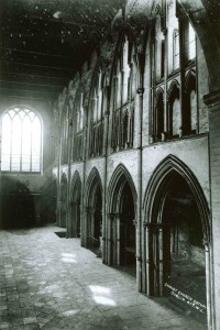 Nave before restoration
