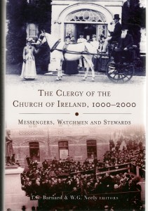 The Clergy of the Church of Ireland Front Cover0001