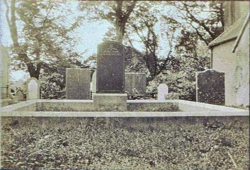 Killinane Church and graveyard c. 1877. aylor family collection, image courtesy of Gerry Kearney
